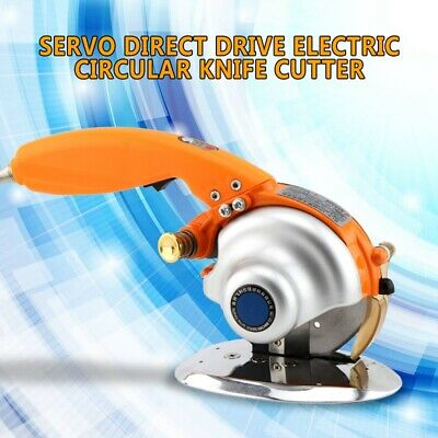 Servo Cloth Fabric Cutting Tool Direct Drive Electric Circular Knife Cutter 220V