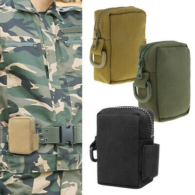 Outdoor Sports Small Molle Pouch EDC Waist Pack Tactical Utility Bag Gadget Gear