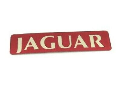 Genuine New JAGUAR BOOT BADGE Trunk Rear Emblem XJ40 XJ6 1982-1994 24V V12 Gold