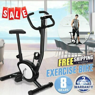 Pro Fitness Stationary Exercise Bike Cardio Indoor Cycling Bicycle Home& Gym USA