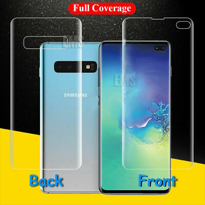 For Samsung Galaxy S9 S9 + Plus 2x Full Coverage Screen Protector Film Gurd