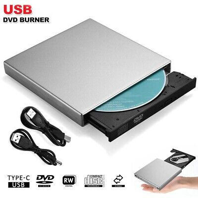 Blu-ray Player Writer Reader DVD CD BD USB 2.0 For Windows Mac Laptop Copier AU