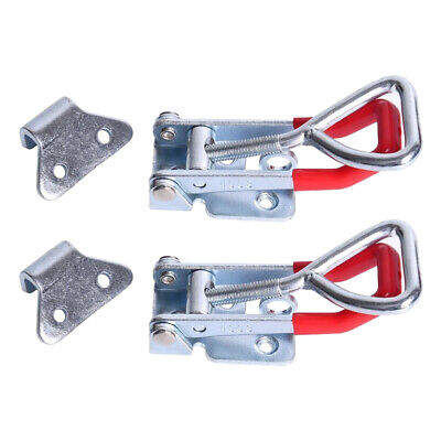 2pcs/Set 300Kg 660Lbs Triangle Shaped Lever Latch Heavy Duty Toggle Clamp Tools