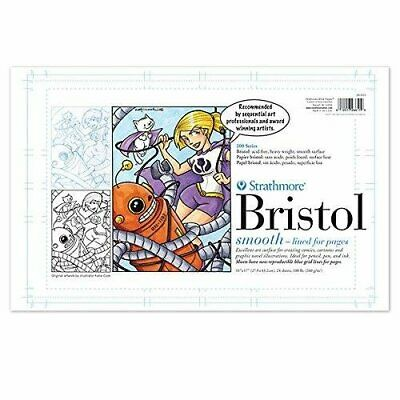 PACON PAPERS 34217 SEQUENTIAL ART 300 BRISTOL SMOOTH TAPE 100LB ... STRATHMORE