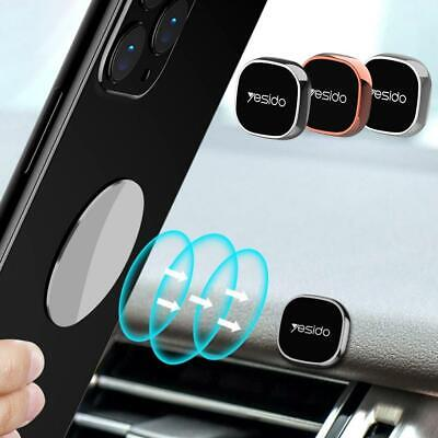 Mini Strip Shape Magnetic Car Phone Holder Stand For iPhone Magnet Mount Black