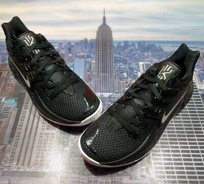 Nike Kyrie Low 2 Brooklyn Nets Black/Metallic Silver Mens Size 12 AV6337 003 New