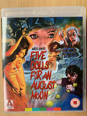 Five Dolls for an August Moon Blu-ray 1970 Giallo Horror Arrow Video w/ Booklet