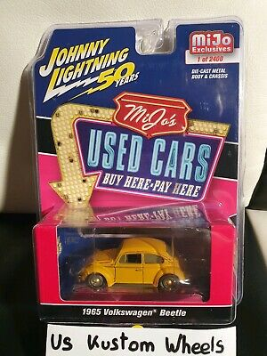 Johnny Lightning 1:64 Use Cars 1965 Volkswagen Beetle Rusted Limited JLCP7220