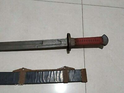 """Collectable Chinese """"Dao"""" Sword Sharp old Blade Rare #15"""
