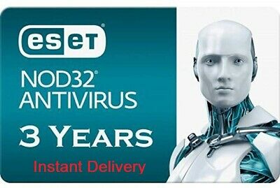 2020 ESET NOD32 Antivirus - 1 Computer 3 years - Instant Delivery