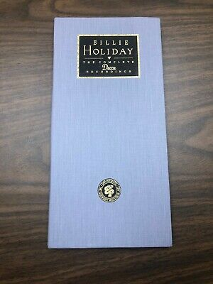 BILLIE HOLIDAY The Complete Decca Recordings ~1991~ 2 CD Box Set & Booklet NICE!
