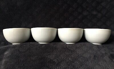 Antique Vintage Chinese Artisan Crafted Sky Blue Celadon Monochrome Wine Cup Set