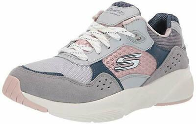 CHAUSSURES SKECHERS FEMME Fille 13019 Blanc Gris Meridian