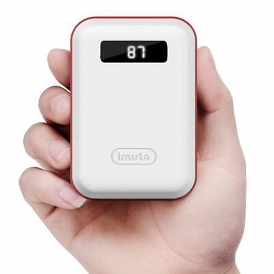 Power Bank 10000mAh Pocket Size Portable Charger Mini External Battery Pack NEW