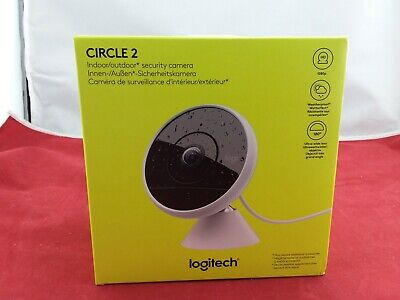 Logitech Circle2 Wired Indoor/Outdoor 1080p Ultra-Wide Lens Home Security Camera