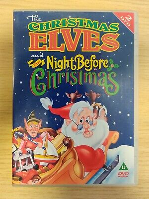BOXED - The Christmas Elves / The Night Before Christmas (DVD, 2004, 2-Disc Set)