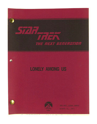 """Lonely Among Us"" - Star Trek: The Next Generation - Original Script"