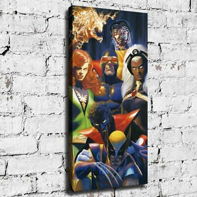 "12""x24""Marvel Hero HD Canvas prints Painting Home decor Room Wall art Picture"