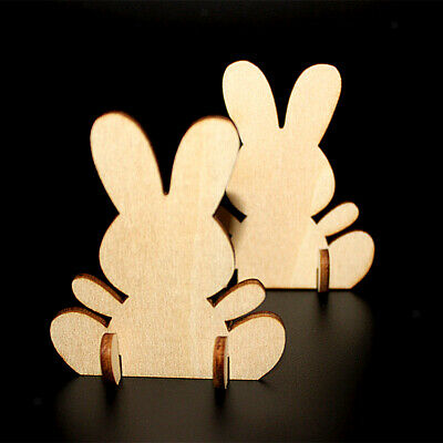 10 x BUNNIES HEARTS Wooden MDF * 4cm 50cms * MDF  4mm Tags Craft Shapes
