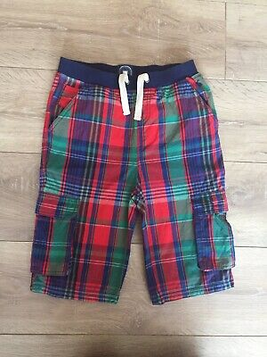 Joules Check Shorts Size 11-12 Years Boys