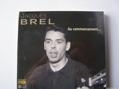 cd jacques brel au commencement 2CD digipack neuf sous blister