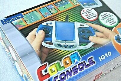 Lexibook Color Console Ig10. 20 Game & Watch Style & Tv Connectable! Brand New!
