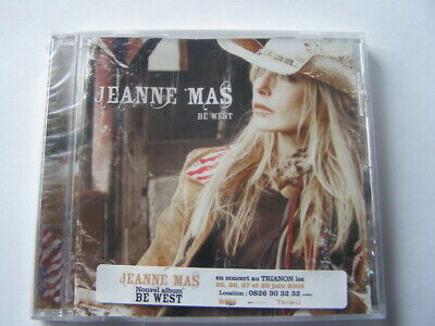 cd jeanne mas be west neuf sous blister