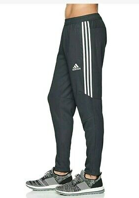 Details about NWT ADIDAS Men's Tiro 17 Training Running Pant #BS3693 Black & White 3 Stripe XL