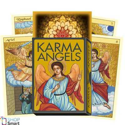 Karma Angels Oracle Cards Deck  Esoteric Telling Lo Scarabeo New