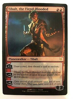 Tibalt NM Red Uncommon MAGIC THE GATHERING CARD ABUGames Browbeat Sorin vs