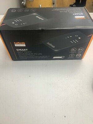 Halfords Smart Battery Charger New-44858(stockcode)