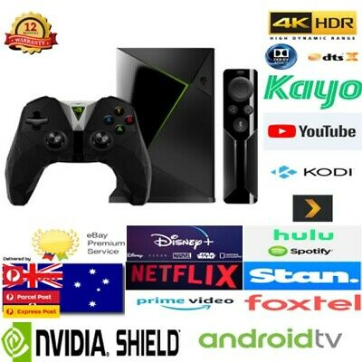 Nvidia Shield Android Tv Gaming 4K Hdr Media Center - Netflix Stan Disney+ Prime