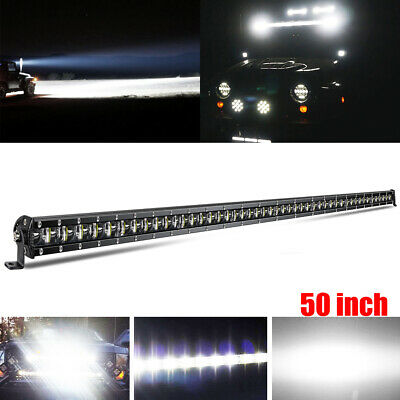 "CoLight 50"" 52"" LED Light Bar 144W 28800LM Brightest Fog Snow Lamp Offroad Truck"