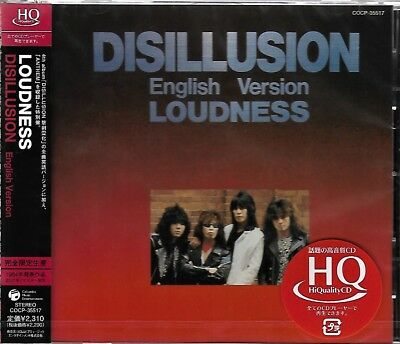 Loudness Disillusion (English Version) Jpn 2009 Rmst Hq High Fidelity Cd - Oop!
