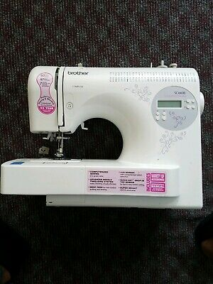 Brother Sewing Machine SC6600 Computerized