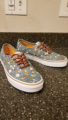 Vans X Disney Toy Story Old Skool Woody Cowboy Denim Size 7.5 Men's 9 Women's