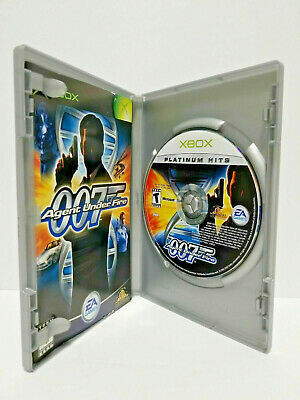 James Bond 007 in Agent Under Fire Xbox videogame Complete CIB VERY Fast Ship!!!