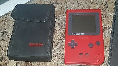 Nintendo Gameboy Pocket Console Red - Not Color Green Blue Rare Grey Official +