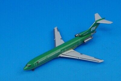 1:400 B727-200 Braniff International Green N453BN GJBNF183 Gemini Airplane model