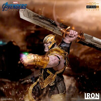Iron Studios Marvel Avengers: End Game Thanos Deluxe Art Scale 1/10 Statue