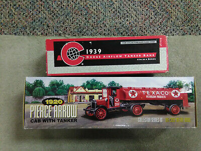 Texaco lot#1 2 ERTL Diecast banks 1996 & 1999