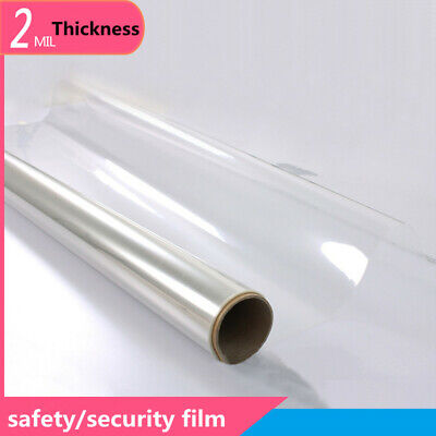 Clear GE120 Transparent Scratch Resistant Window Safety Film