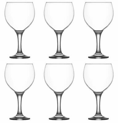 Lav Misket (Pack of 6) Gin Balloon Copa Spanish Cocktail Gin Tonic Glasses 645ml