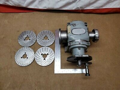 Hardinge Dividing Head Indexing Plate & Accessories