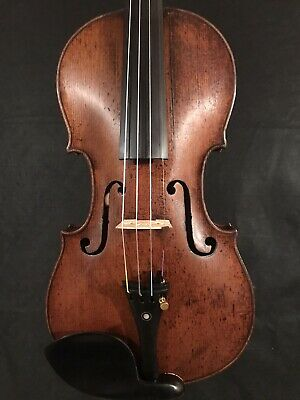 c.1860-1890 Jacobus Stainer 4/4 Full Size Violin Vintage Old Antique Fiddle