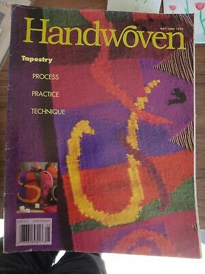 May/June 1995 Handwoven Weaving Magazine: Tapestry Special Topic Issue
