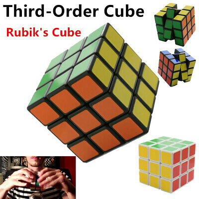 Third-Order Smooth Speed Magic Rubiks Cube Puzzle Easy Twist Educational Toys RE