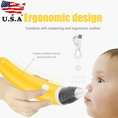 Baby Nasal Aspirator Electric Hygienic Nose Cleaner Snot Sucker Suction Machine