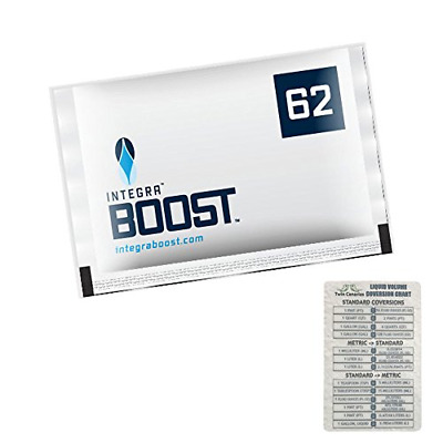 Integra Boost RH 62% 2 Way Humidity Control Large, 67g - 12 Pack + Twin Canaries