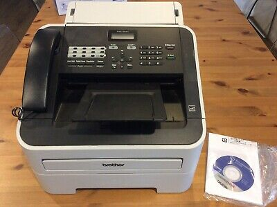 Brother FAX-2840 fax machine Laser 33.6 Kbit/s A4 Black,Grey